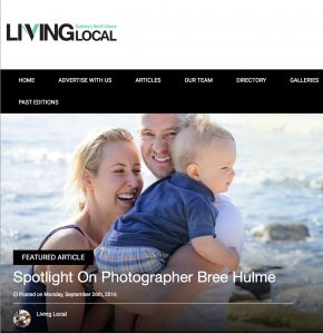 Bree Hulme Photography Feature Living Local