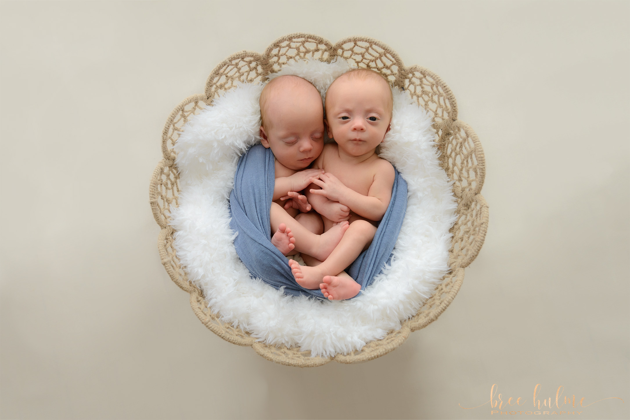 Beautiful newborn twins photography on Sydney's Northern Beaches and north Shore by Bree Hulme Photography Twin Babies Newborn Twins Newborn Multiples