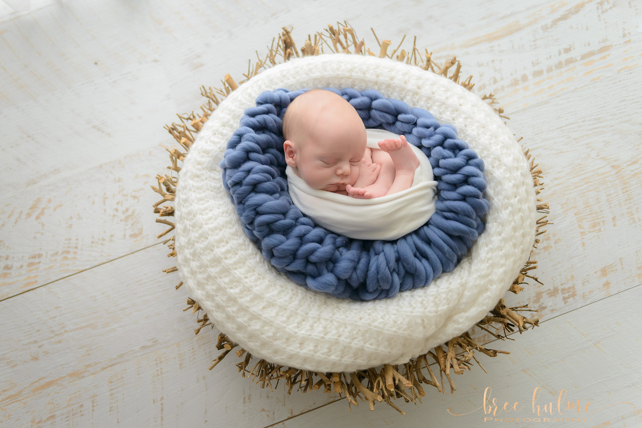 newborn photo shoot by newborn and baby photographer Bree Hulme Photography on Sydney's northern Beaches