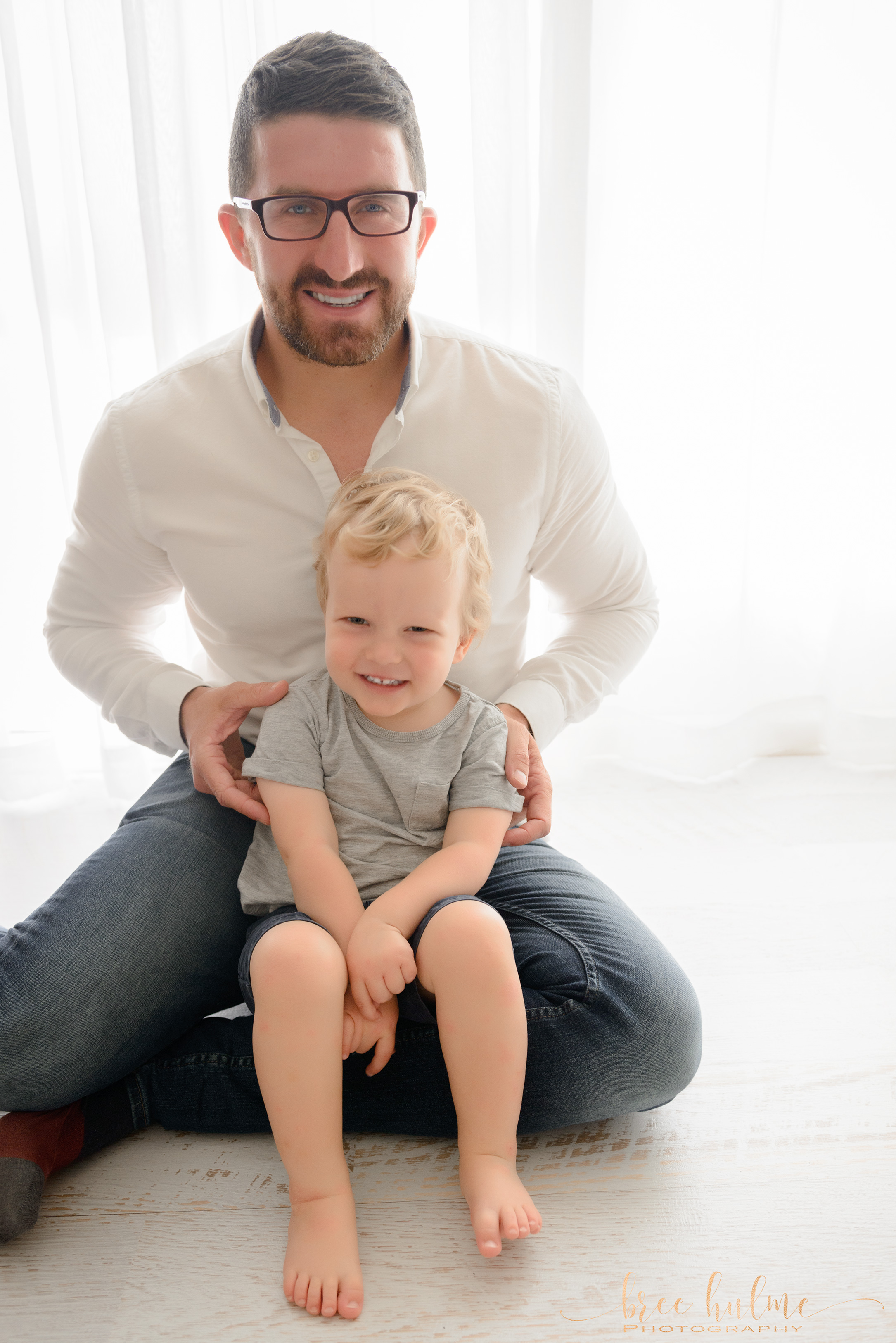 Bree Hulme Photography Sydney's best newborn and family photographer Father and child happy father's Day