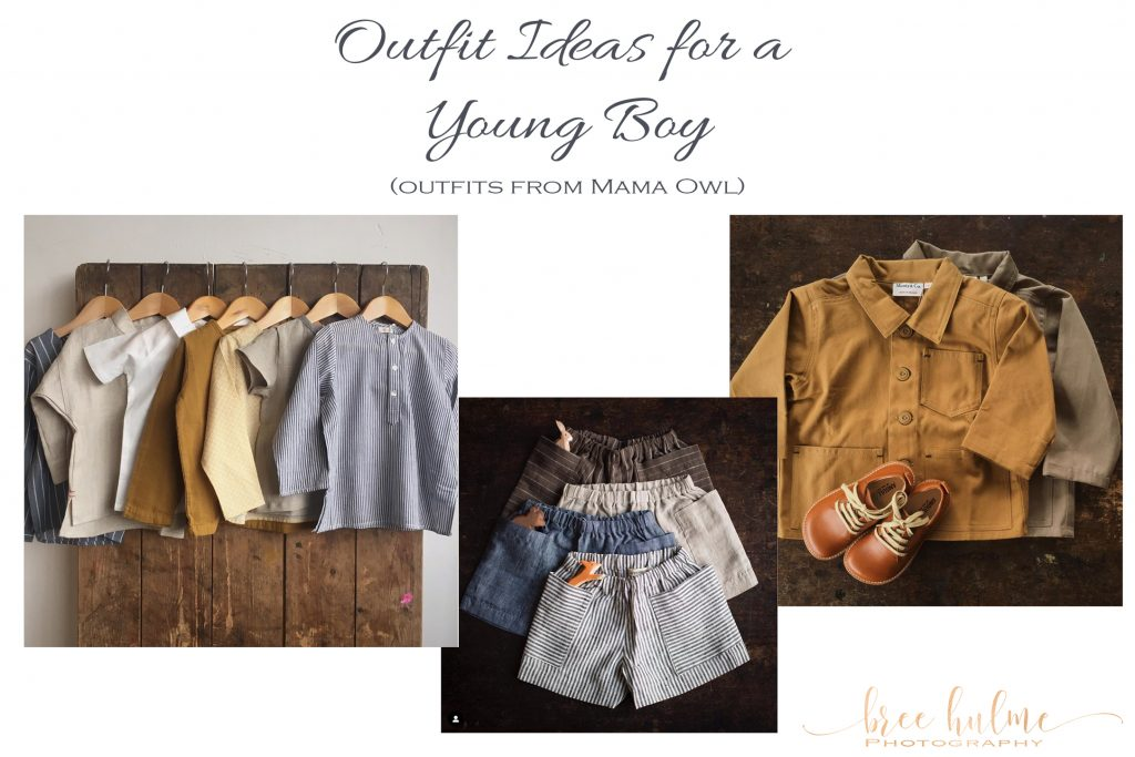 outfit ideas for young boys for family portraits by bree hulme photography